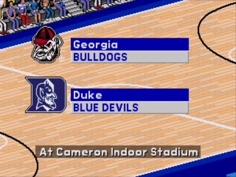 Coach K College Basketball | 1995 | 1st Round | Georgia vs Duke | SGCTS