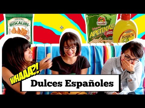 Probando Dulces ESPAÑOLES en PARIS / Una Mexicana en Paris