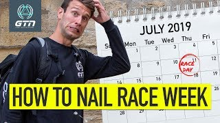 How To Plan Your Race Week | Triathlon Training Explained