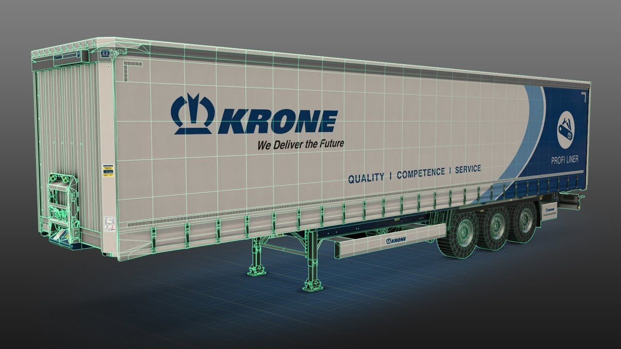 KRONE zu Besuch bei SCS Software - Euro Truck Simulator 2 (DE) | KRONE TV