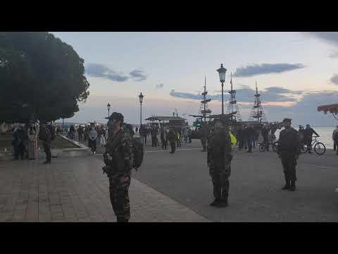 Εθνικός ύμνος από τη Λέσχη Εφέδρων για την απελευθέρωση της Θεσσαλονίκης - Voria.gr