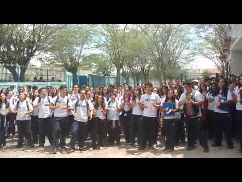 Resultado de imagem para foto alunos do marista pio xii iniciam mobilização contra a reforma da previdência