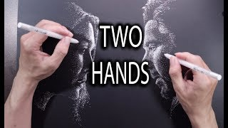 2 Hands 2 Drawings at the same Time - DP Truong