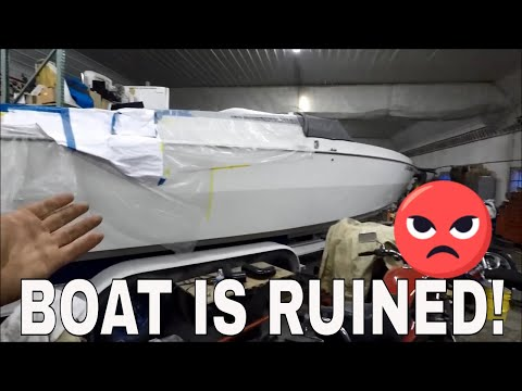 Guy Put A HUGE Hole In My Boat!!