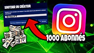 HOW TO HAVE HIS SOURCE CODE ON FORTNITE (HAVE 1000 ABONNER ON INSTAGRAM)