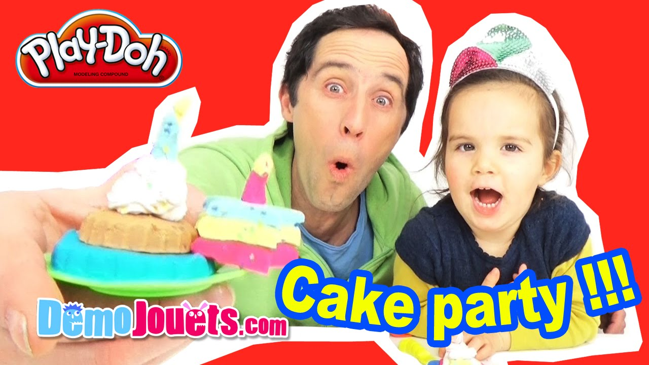 play doh cake p 226 te 224 modeler avec papa d 233 mo jouets