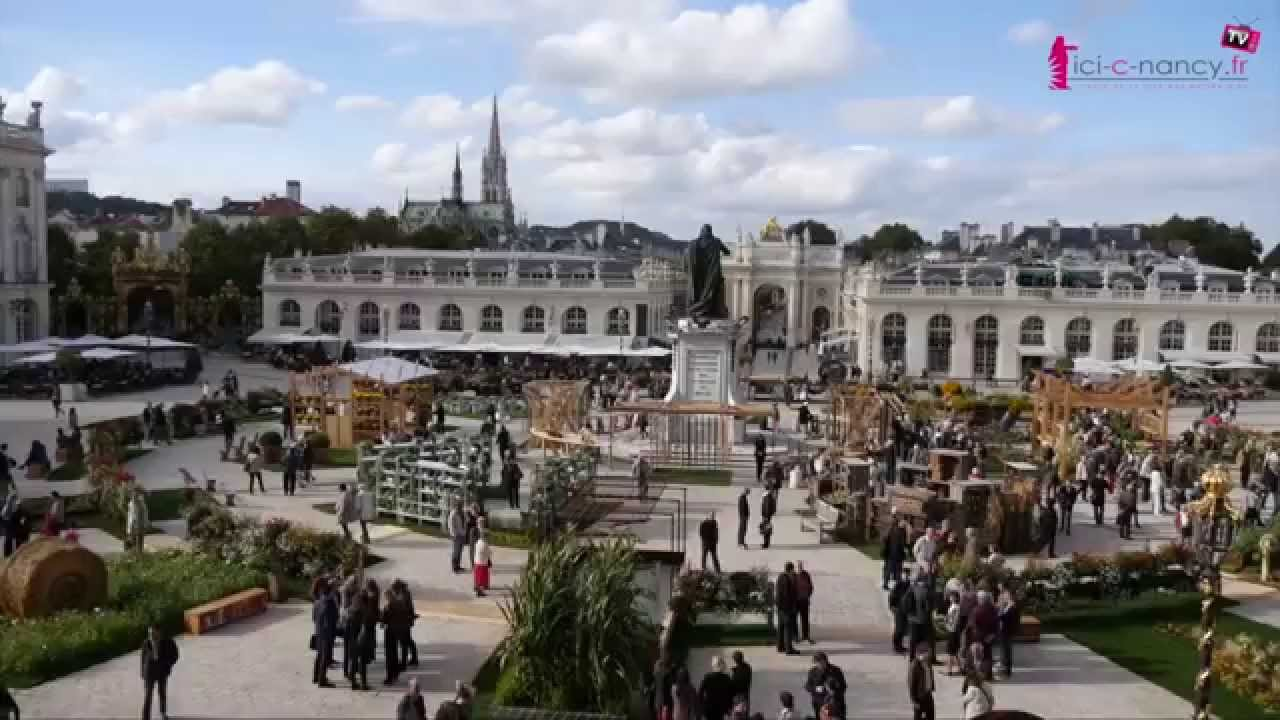 Voyage au coeur du jardin ph m re de nancy 2015 youtube for Jardin ephemere 2015 nancy