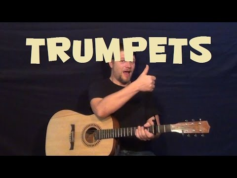 Trumpets (Jason Derulo) Easy Guitar Lesson How to Play Tutorial