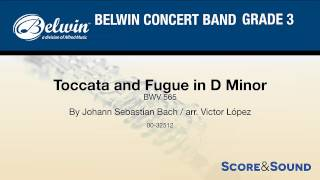 Toccata and Fugue in D Minor, arr. Victor López – Score & Sound