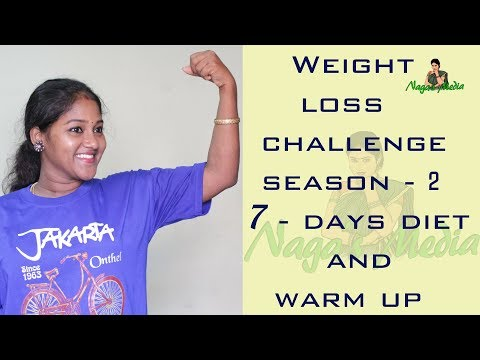 Repeat NAGAS MEDIA - Weight loss challenge season - 2 diet