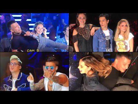 צילומי הכוכב הבא 1# - הראל ושירי שרים טוי, רותם ואסי משתטים ושירי וקרן במלון