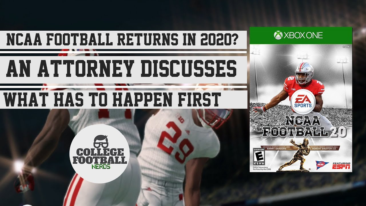 NCAA Football Video Game to Return in 2020? An Attorney ...