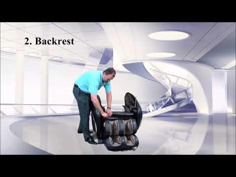 Osaki OS-4000 Zero Gravity Executive Fully Body Massage Chair Installation Assembly