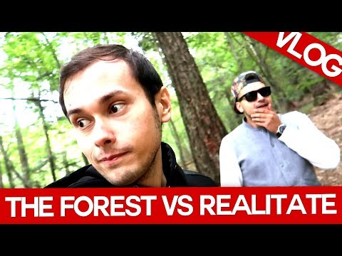 VLOG! The Forest VS Viata Reala cu Max si Bercea! (Gluma)