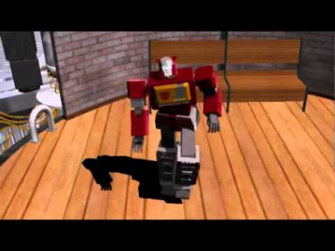 SONG Dancing Avtobots 6 transformers G1[Galactica]