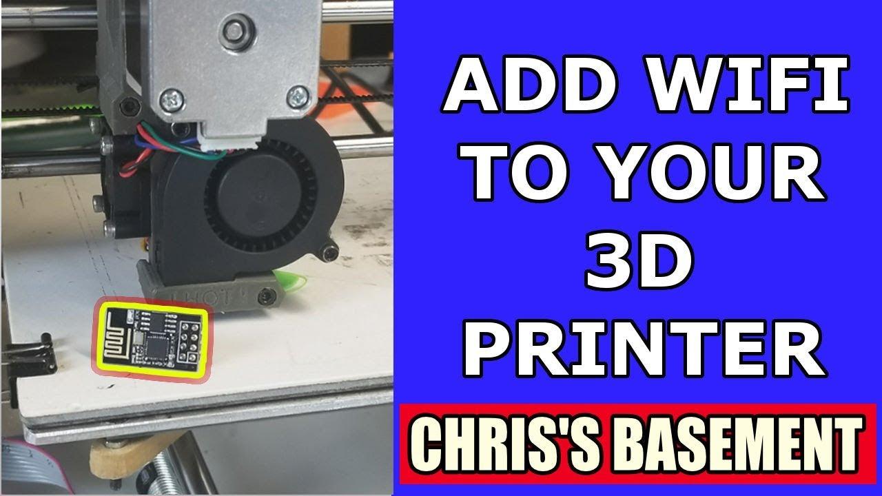Add Wifi To Your 3d Printer For 5 Esp8266 Luc Esp3d Reprap Ramps 14 Wiring Nwreprapcom Youtube Chriss Basement