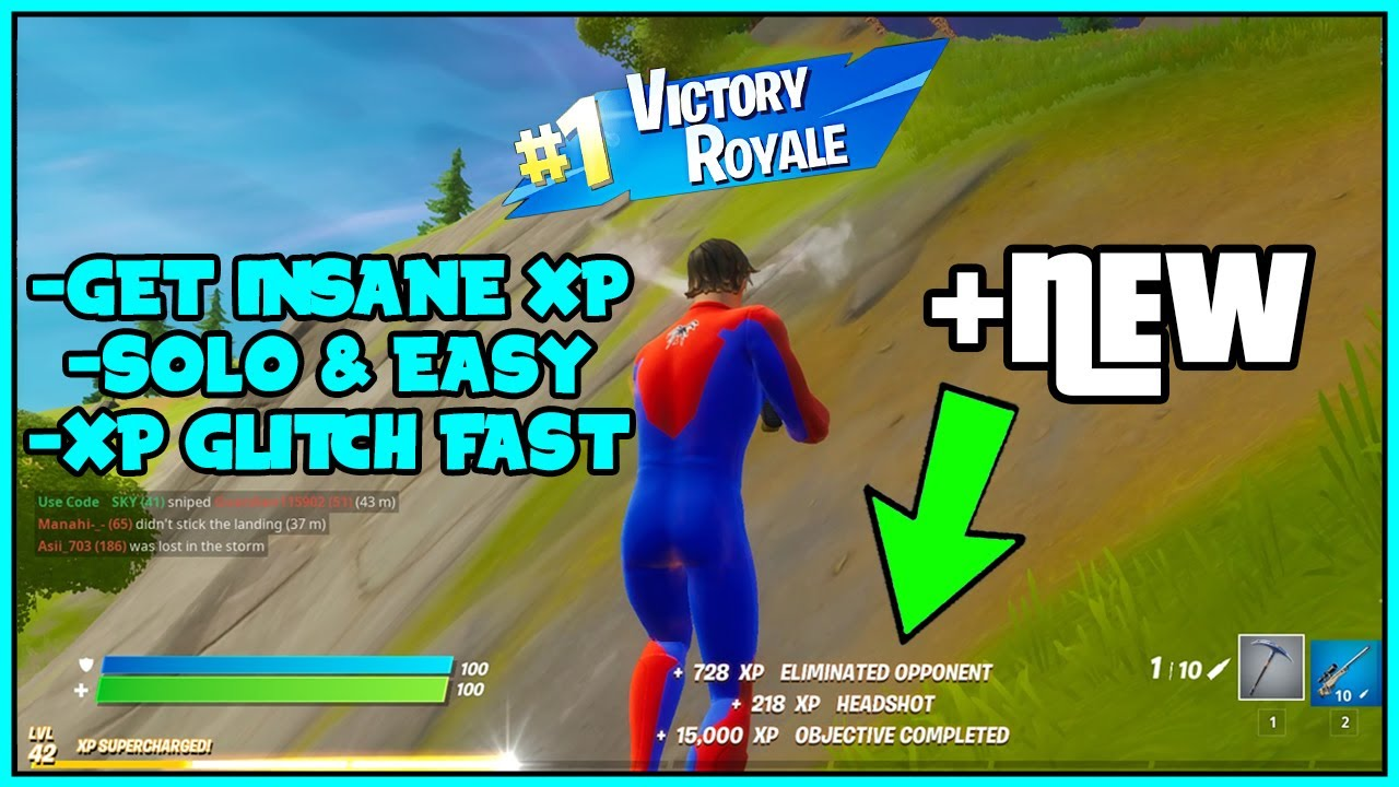 XP GLITCH IN Fortnite To RANK UP Fast!! SOLO.. (Chapter 2 XP GLITCH) *Season 14 NEWER*
