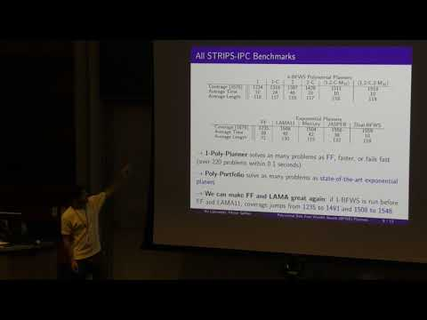 ICAPS 2017: A Polynomial Planning Algorithm That Beats FF And LAMA