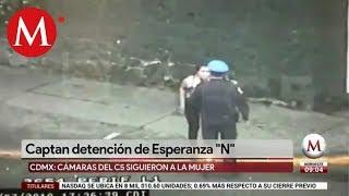 Así detuvieron a mujer ligada a balacera en plaza Artz Pedregal