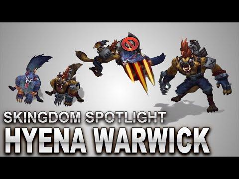 Hyena Warwick Skin Spotlight | SKingdom - League of Legends | Compare