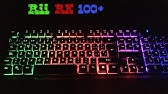 Rii RK100 3-Color Mechanical Feeling Gaming Keyboard Review