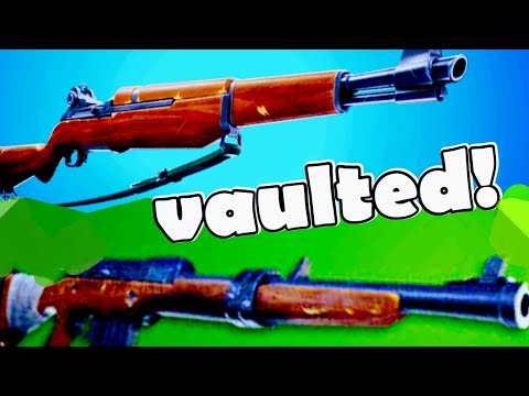 Infantry Rifle, Hunting Rifle Vaulted And Deagle Nerf In Fortnite