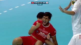 Тунис до 21 : Япония до 21
