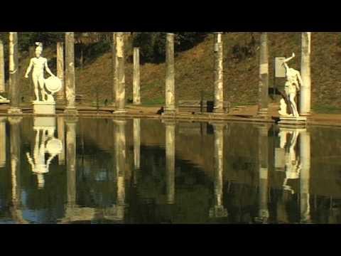 Hadrian's Villa (Villa Adriana) Tivoli, ITALY UNESCO World Heritage Site