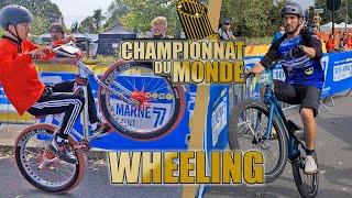 Je participe au Championnat du Monde de Wheeling !