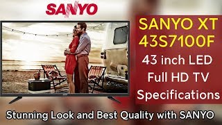 Sanyo 43S7100F 43 inch Full HD LED TV Specifications Price