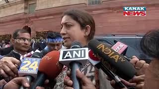 CBI Vs Kolkata Police: Reaction of Smriti Irani On Political Drama In Kolkata