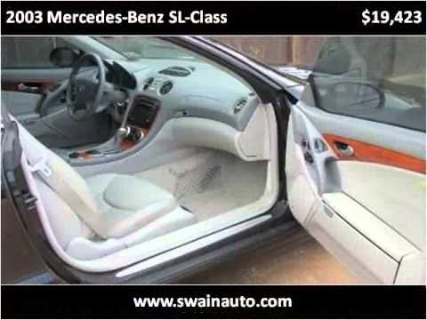 2003 mercedes benz sl class used cars jackson ms youtube for Used mercedes benz jackson ms