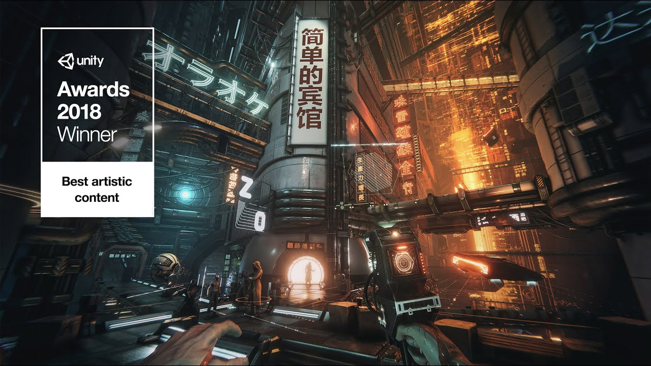 Download The Hunt — Unity Awards Winner — Realtime Short Film made in Unity3D Sci-Fi Cyberpunk 4K