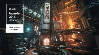 The Hunt — Unity Awards 2018 Winner — Realtime Short Film made in Unity3D Sci-Fi Cyberpunk 4K