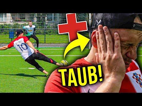 ER WURDE TAUB WEGEN DIESER FUßBALL CHALLENGE! *nicht nachmachen!*