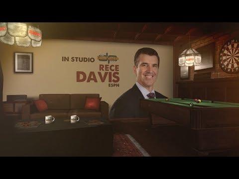 ESPN College GameDay Host Rece Davis on The Dan Patrick Show | Full Interview | 8/23/17