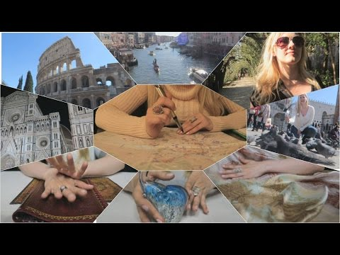 ASMR 💒 Amore Trip to Italy 💒 SoftSpoken / Lip Smacking / Assorted Sounds