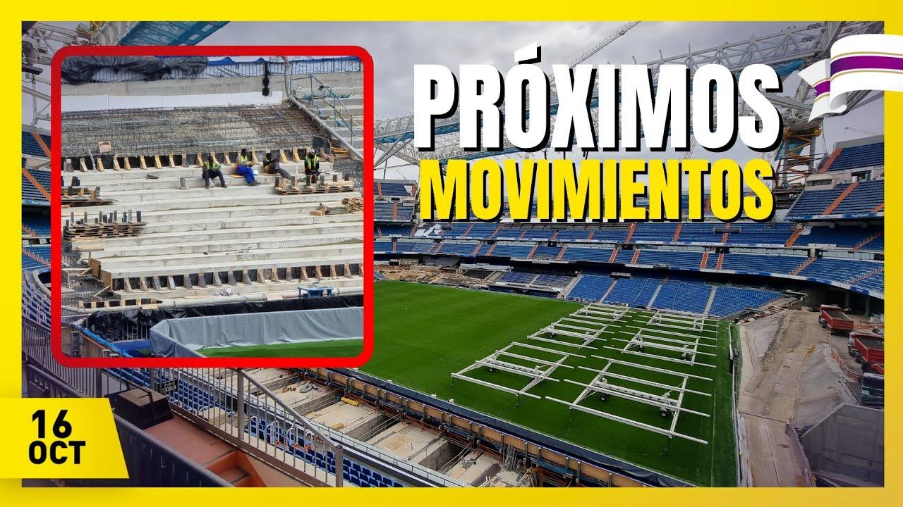 💥 NOVEDADES! 📅[16 OCTUBRE] OBRAS del Santiago Bernabéu ⚠️ Estadio del REAL MADRID