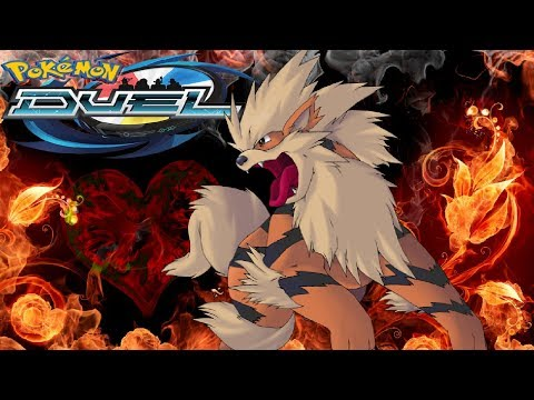 EX ARCANINE IS HERE!!! | Boosters & Battles & Stat Analysis | Pokemon Duel