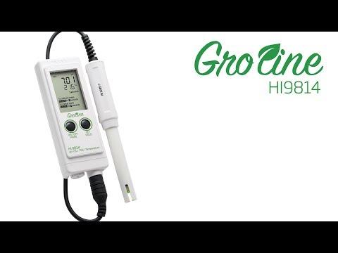 How To: Hanna Instruments GroLine® HI9814 PH/EC/TDS Meter Tutorial