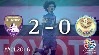 AL AIN vs NASAF: AFC Champions League 2016 (Group Stage)