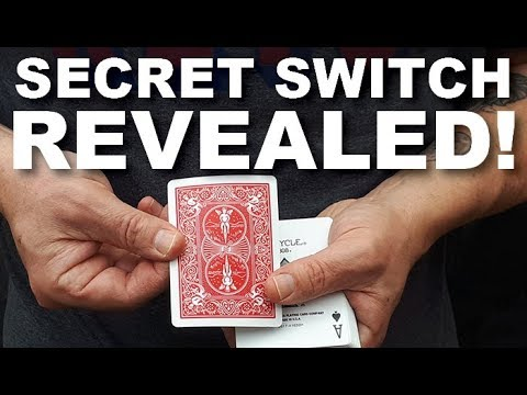 Learn How Expert Magicians Switch Cards (Amazing Card Trick Revealed!)