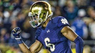 Equanimeous St. Brown Notre Dame 2017 Season Highlights ᴴᴰ ||
