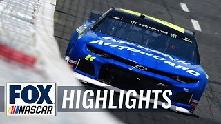 William Byron beats Bubba Wallace by a bumper, advances to All-Star Race | NASCAR on FOX HIGHLIGHTS