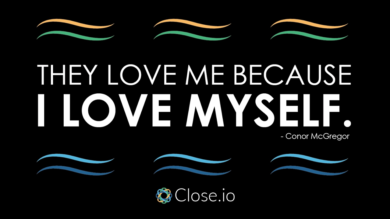 I Love Myself Quotes Sales Motivation Quote They Love Me Because I Love Myself