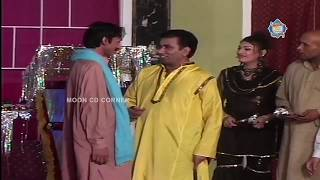 Nasir Chinyoti and Mastana  Stage Drama Tension Full Comedy Clip