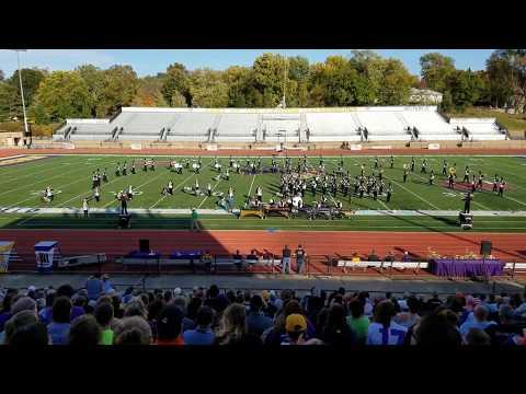 2017-10-21 Macomb Senior High School Marching Band at WIU