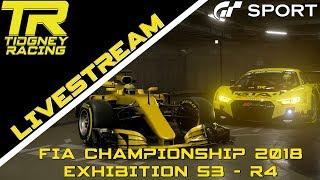 [GT Sport Livestream] - F1 + Gr.3 || FIA 2018 Exhibition Season 3 Round 4!