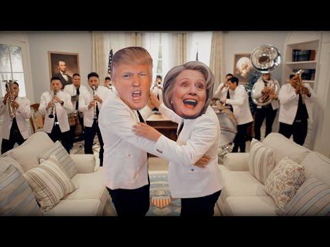 El Corrido de La Hillary y el Trump - mitú