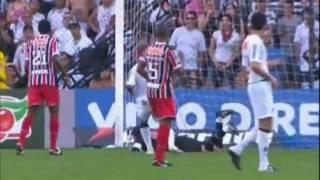 Santos 1 x 1 São Paulo - Brasileirão 2011
